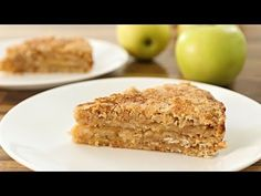 Apple Oatmeal Cake Recipe - YouTube