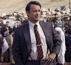Tom Hanks in Charlie Wilson's War Tom Hanks, Charlie Wilson's War, Shirt And Tie Combinations, Mike Nichols, Like Mike, Comedy Quotes, Rick Ross, Mens Attire, Adam Sandler