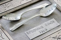"Once Upon a Time ""engraving spoons"" by @Thistlewood Farm"