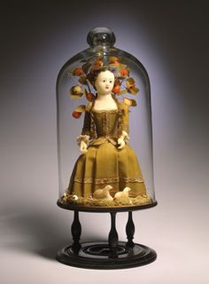 18th century wax doll in remarkable condition consider how fragile these were.