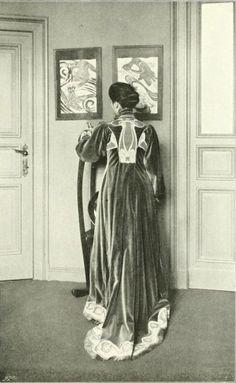 Henry van de Velde, evening dress