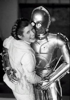 Fred Astaire and Ginger Rogers on the set of THE EMPIRE STRIKES BACK :)