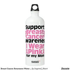 Breast Cancer Awareness Water Bottle SIGG Traveler 1.0L Water Bottle