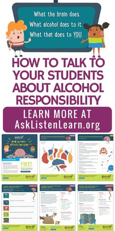 Calling all counselors, middle school teachers and educational professionals. Help your students say yes to a healthy lifestyle and no to underage drinking. This free curriculum includes free printables, interactive activities and lesson plans. Teach your Education Middle School, Middle School Teachers, Elementary Schools, High School, School Kids, Special Education, School Stuff, Health Teacher, School Health