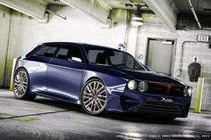 Check Out The Modern Lancia Delta Integrale HF Study