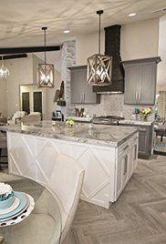 flip or flop gray stone bathroom New Kitchen Designs, New Home Designs, Dark Kitchen Cabinets, Kitchen Island, Welcome To My House, Home Kitchens, Dream Kitchens, Flip Or Flop Hgtv, Updated Kitchen