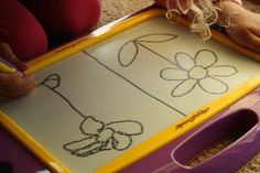 5 ways to use your Magna Doodle to teach your child to draw, write and problem-solve. - happy hooligans