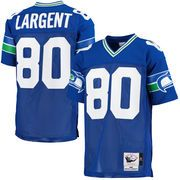Mitchell & Ness, a Philadelphia-based company that specializes in vintage sporting goods published a list of the top-selling throwback jerseys in each state, and for the second straight year, former Seahawks receiver Steve Largent is No. 1 in Washington among former NFL, MLB, NBA and NHL players.
