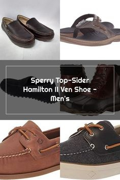 Sperry Top-Sider Hamilton II Ven Shoe - Men's Sperrys Men, Sperry Top Sider, Hamilton, Boat Shoes, Tops, Fashion, Moda, Fashion Styles