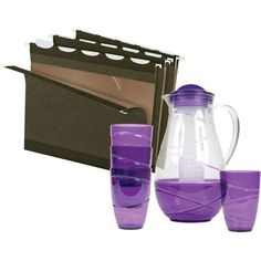 FREE Fruit Infusion Water Pitcher Set when you buy 2 boxes of Pendaflex® Ready Tab® Hanging Folders | Quill.com