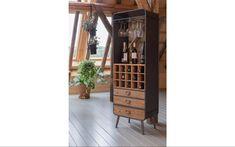 Wijnkast Vino Grijs metaal kopen?   Goossens Small Furniture, Loft, Wine Rack, Decoupage, Entryway, Storage, Home Decor, Products, Wine