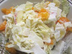 Chinakohlsalat, ein sehr schönes Rezept mit Bild aus der Kategorie Früchte. 34 Bewertungen: Ø 3,9. Tags: Früchte, Gemüse, Salat, Vegetarisch