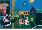Romare Bearden Prints | Artist at Gallery Direct Art - African American Fine Art