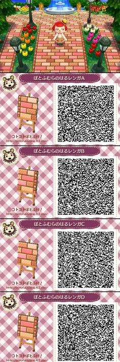 Animal Crossing New Leaf Path QR Code