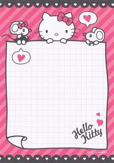 Sanrio Hello Kitty Memo (2014) | by Crazy Sugarbunny