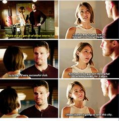 Arrow - Oliver & Thea #4.4 #Season4