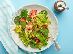 Strawberry Salad Recipe : Trisha Yearwood : Food Network - FoodNetwork.com