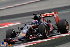 Max Verstappen, Scuderia Toro Rosso, Formule 1-test op Circuit de Catalunya, 21 februari 2015, Formule 1