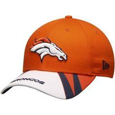 618d7c8aa8a Men s Denver Broncos New Era Orange Jersey Play Classic 9FORTY Adjustable  Hat