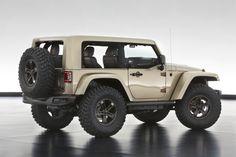 Tan Mopar Jeep