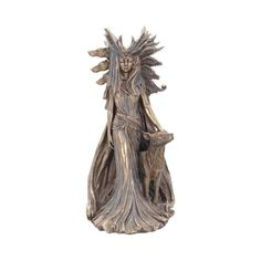 Hecate Statue Goddess Greek Roman Ancient Mythology Bronze Art Antique Vintage Style Sculpture / was a goddess in Greek mythology, considered to be the goddess of magic and witchcraft. She was often depicted holding two torches. Metal Sculpture Wall Art, Bronze Sculpture, Wall Sculptures, Metal Wall Art, Lion Sculpture, Ancient Greek Religion, Hecate Goddess, Torches