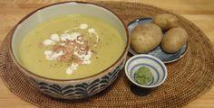 Wasabi-Kartoffelsuppe mit Krabben - Mit einem Hauch japanischer Schärfe überrascht der Klassiker der deutschen Küche in einer neuen Geschmacksnote.