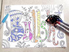 swear word coloring book mature adults sweary di LaSoffittaDiSte