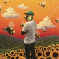 A fantastic poster of Hip Hop wunderkind Tyler, the Creator! The album cover art from his Flower Boy LP. Need Poster Mounts. Rap Album Covers, Music Covers, Best Album Covers, Best Album Art, Box Covers, Drake Album Cover, Fun Album, Flower Boys, Cover Art