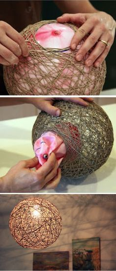 24 Easy And Cheap Crafts to Make and Sell… - Diy und Selbermachen Home Crafts, Fun Crafts, Diy Home Decor, Diy And Crafts, Garden Crafts, Crafts To Make And Sell Easy, Sell Diy, Twine Crafts, Diy Crafts To Sell Cheap Easy