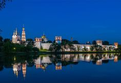 Novodevichy Convent is one of Moscow'