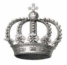 Vintage Crown Image Download & A Thank You! - The Graphics Fairy
