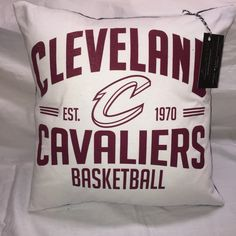 A personal favorite from my Etsy shop https://www.etsy.com/listing/455872564/cleveland-ohio-basketball-t-shirt-pillow