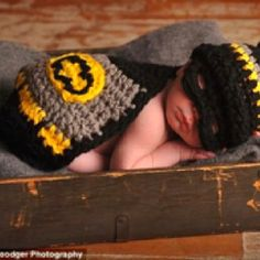 Batman baby... oh my husband would love this idea!!