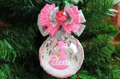 Personalized Disney Princess Aurora Sleeping Ornament - $19.99