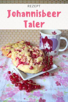 [Rezept] Johannisbeertaler mit Streuseln | The Hangry Stories Donuts, Muffins, Cupcake, Veggies, Food And Drink, City, Breakfast, Desserts, Kitchens