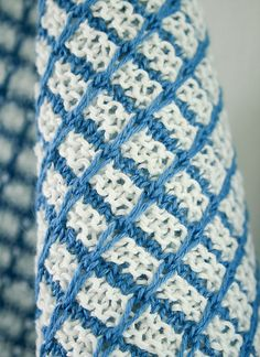 Whit's Knits: Slip Stitch Dishtowels by the purl bee, via Flickr