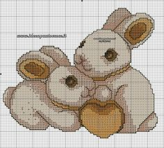 Pics for you evety day Cute Cross Stitch, Cross Stitch Heart, Cross Stitch Animals, Cross Stitching, Cross Stitch Embroidery, Embroidery Patterns, Cross Stitch Patterns, Crochet Baby Mobiles, Crotchet Patterns