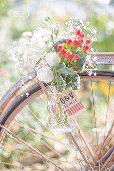 Bouquet#Vélo Parenthèse Poétique Crédit Photo: pdboudierphotographie