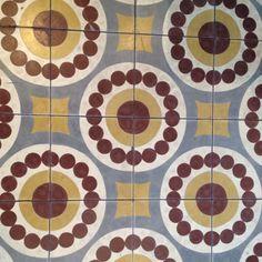 Amazing retro floor tiles