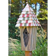 Heartwood Vintage Bluebird Bird House - Antique Cypress