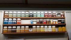 Pigmenten uit Rusland