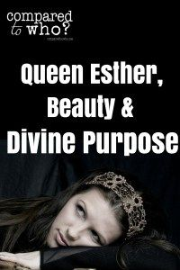 AMAZING! Wow! Never thought of it this way. God gives us enough beauty for what he's called us to do. Hmmm...