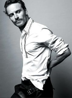 Michael Fassbender (born 2 April 1977) is a German-Irish actor. He is well-known for three roles, having played Lieutenant Archie Hicox in the film Inglourious Basterds (2009), Magneto in the superhero film X-Men: First Class (2011), and the android David in the science fiction film Prometheus (2012).
