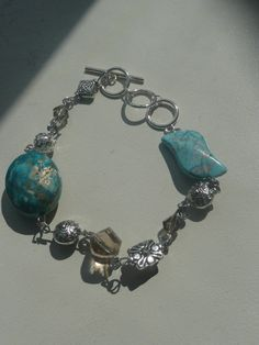 Turquoise Beauty Bracelet by DesignHerStyles on Etsy, $15.00