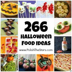 266 Halloween Food Ideas : Gross, Creepy, and Cute Inspiration