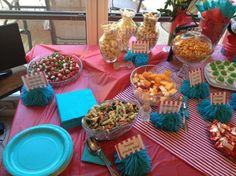 Dr Seuss baby shower - Food ideas