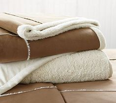 Sherpa Patch Blanket #PotteryBarnKids