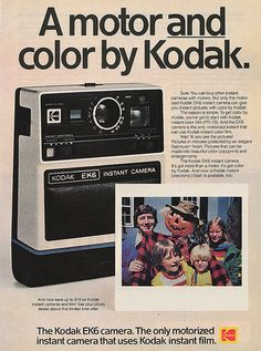 1977 Kodak Instant Camera Halloween Ad