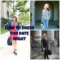 Tired of your wardrobe? Time for a new look? Before you ditch what's in your closet, check out some great date night dressing inspiration.