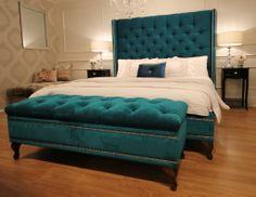 Classic Furnishings Australia - Chantel Bed & Dorcester Ottoman